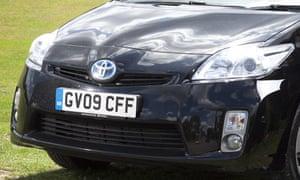 Toyota Prius close-up