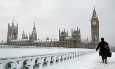 Snow walk commuter