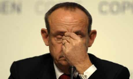 Executive-secretary of the UN Climate Conference Yvo de Boer