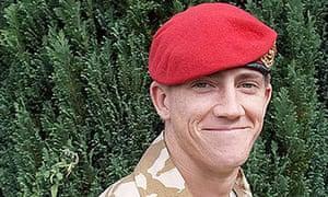 British soldier Michael David Pritchard