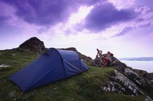 Decade destinations: Camping in Scotland