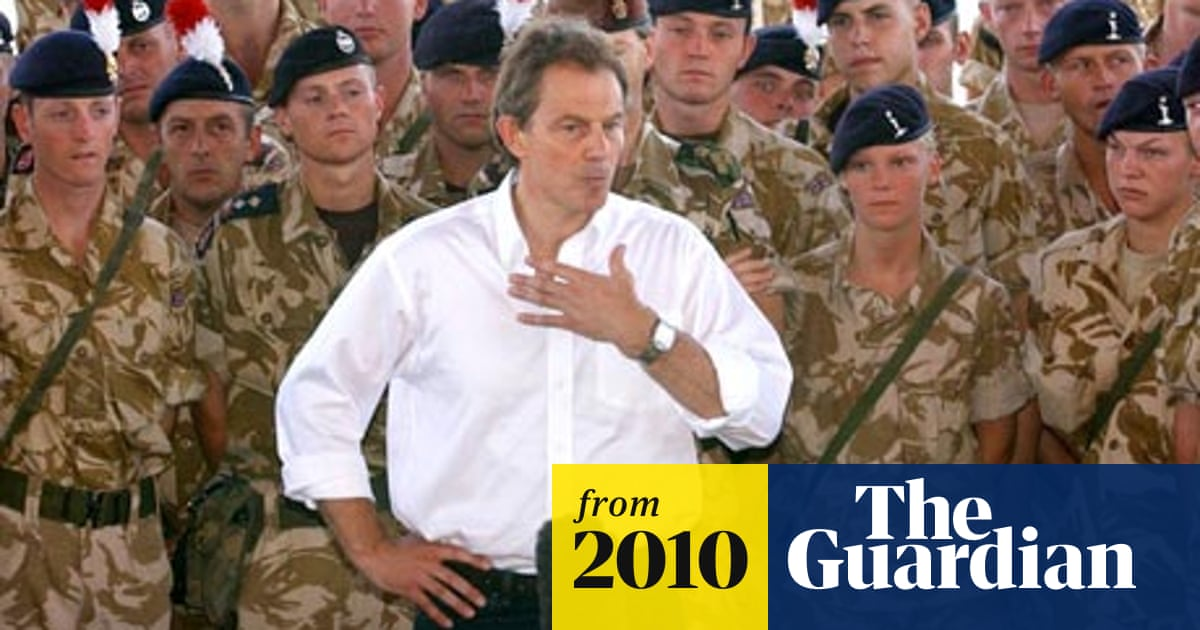 Tony Blair: military intervention in rogue regimes 'more necessary than ever' | Tony Blair | The Guardian