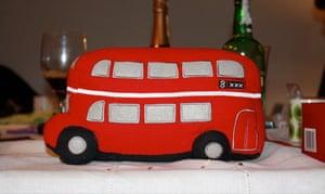 London bus doorstop