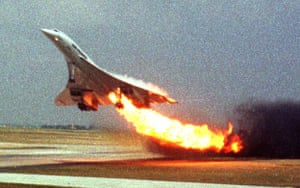 Pictures of the Decade: 25 July 2000: Air France flight 4590 takes off from Charles de Gaulle