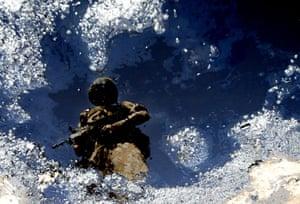 2002-03: 2003: A British soldier in Iraq
