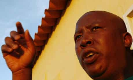 African National Congress (ANC) Youth League President Julius Malema