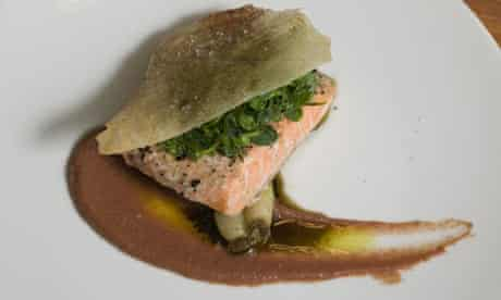 Salmon at Bacchus
