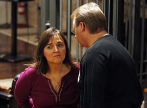 Meredith Kercher trial: 1 December 2009: Murder suspect Amanda Knox's parents in court