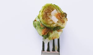Caramelised sprouts with bacon