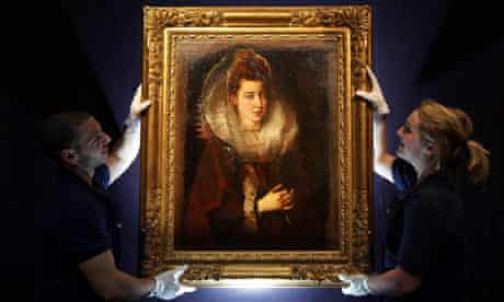 mystery Rubens picture at Sotheby's