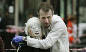 Pictures of the Decade: 7 July 2005: An injured passenger is helped away from Edgware Road station