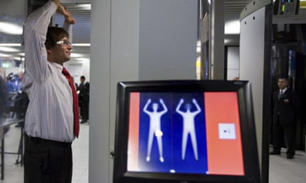 Body scanner Netherlands