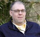 Peter Moore at the British embassy in Baghdad