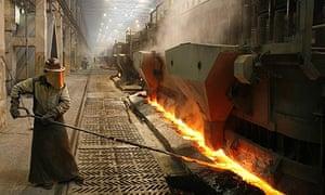 RUSAL aluminium smelter in Krasnoyarsk