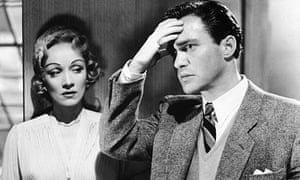 Richard Todd stars with Marlene Dietrich in Stage Fright