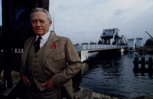 Richard Todd: 1993: Ricahrd Todd at the Dismantling of Pegasus bridge Normandie, France