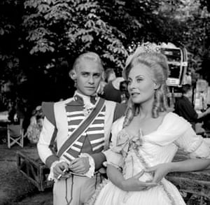 "Richard Todd: 1955:  Michele Morgan and Richard Todd ""Marie-Antoinette"""