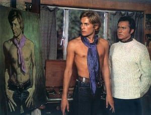 Richard Todd: 1970: Helmut Berger & Richard Todd in 'Dorian Gray