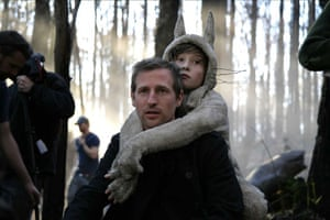 Wild Things: Spike Jonze and Max Records on the set of Where the Wild Things Are