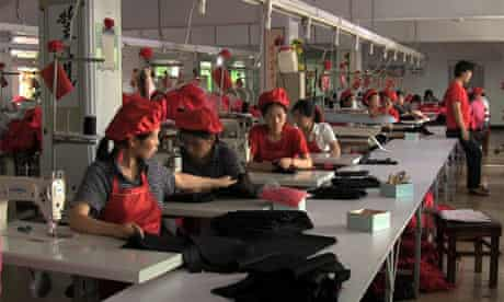 Noko Jeans production in North Korea