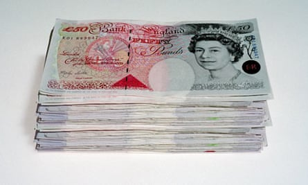 Loads of money.