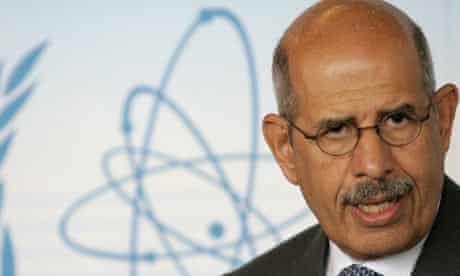 Former IAEA chief Mohamed ElBaradei
