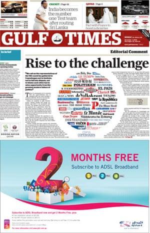 Copenhagen editorials : Copenhagen editorials - Gulf Times, Qatar