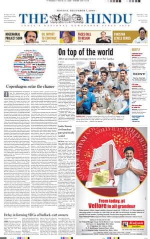 Copenhagen editorials : Copenhagen editorials - The Hindu, India