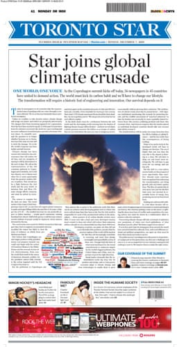Copenhagen editorials: Toronto Star, Toronto