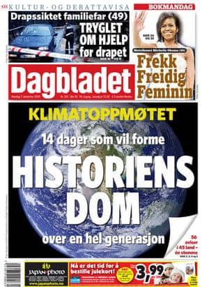 Copenhagen editorials: Dagbladet, Oslo