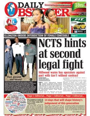 Copenhagen editorials: Daily Observer, Kingston