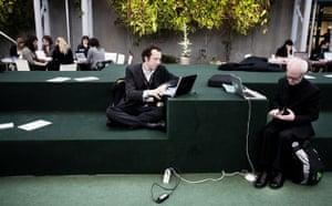 Copenhagen diary: Journalists get ready, Bella Center , COP15