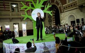 Copenhagen diary:  Children's Climate Forum Connie Hedegaard, Denmark's minister for COP15
