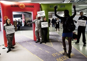 Copenhagen diary: Environmental activists from WWF at the Bella Center, COP15