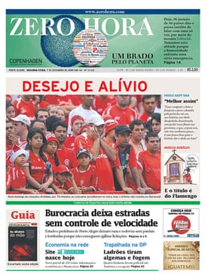 Climate change papers: Zero Hora, Brazil
