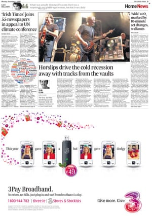 Copenhagen editorials: Irish Times,  Dublin