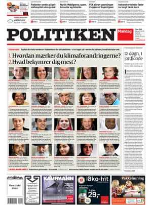 Copenhagen editorials: Politiken, Copenhagen