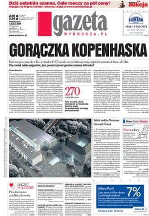 Climate change papers: Gazeta Wyborcza