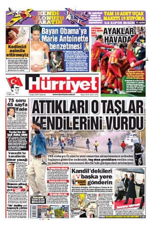 Climate change papers: Hurriyet, Turkey