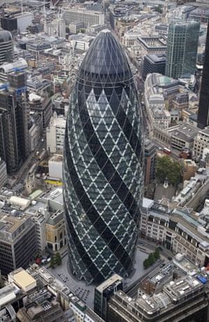 Best noughties buildings: 30 St Mary Axe (the Gherkin)