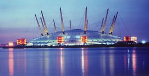 Best noughties buildings: Millennium Dome, London