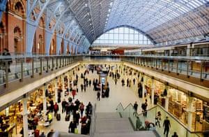 Best noughties buildings: St Pancras station, London