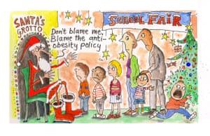 Ros at Christmas: Ros: skinny Santa
