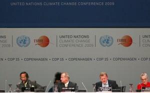 Copenhagen diary: Opening ceremony at Bella Centre, COP15