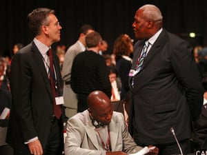 Copenhagen diary: Members of Canada's and Cameroon's delegations at COP15