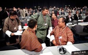 Copenhagen diary: UN Climate Change Conference : Delegates from Bhutan, COP15