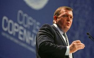 Copenhagen diary: Danish Prime Minister Rasmussen speaks during the opening of COP15