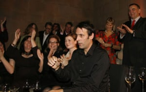 Wright wins Turner: Richard Wright is announced as the winner of the Turner Prize 2009