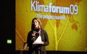 Copenhagen Diary: COP15 Speaking at Klimaforum09's opening ceremony in Copenhagen Naomi Klein