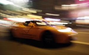 Copenhagen diary: COP15 The Tesla roadster, an all-electric sports car